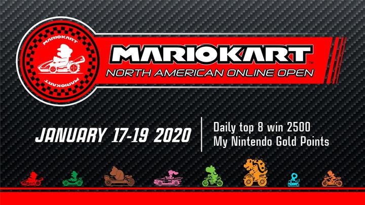 Mario Kart North American Open January 2020