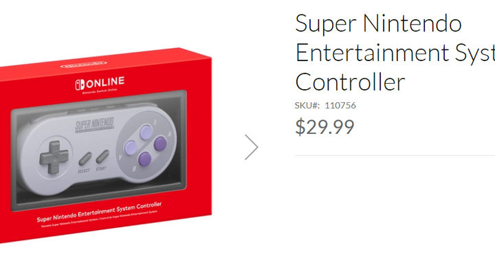 Wireless SNES Controller Available For Paid Online Members!