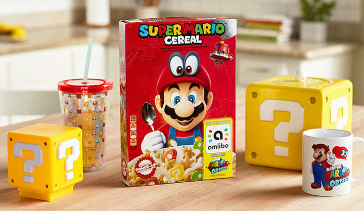 Super Mario Cereal is Real!