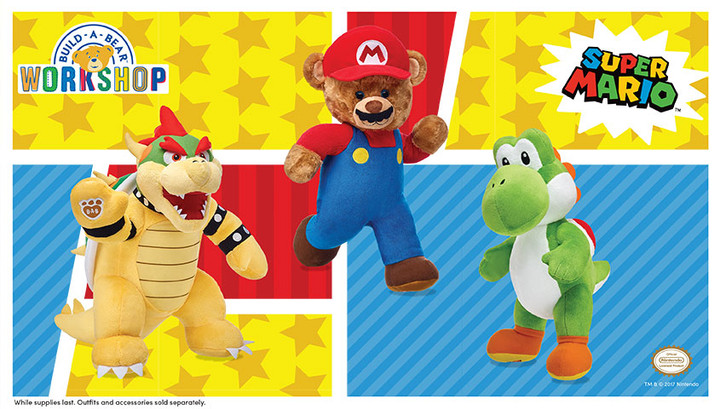 Build-A-Bear Workshop announces new licensed partnership with Nintendo!