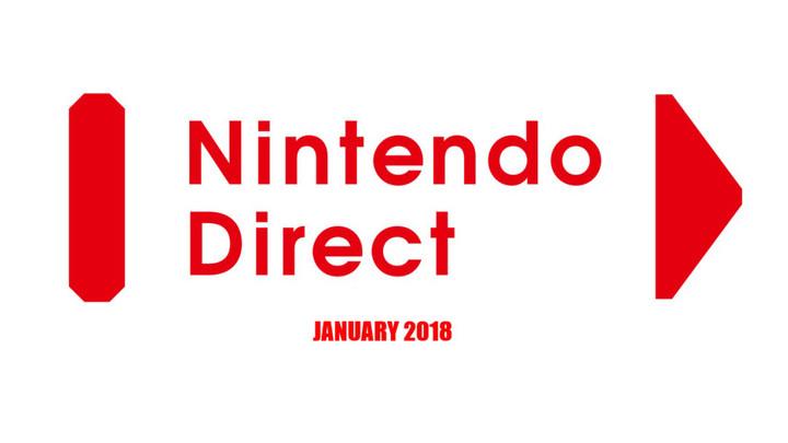 NINTENDO DIRECT JANURAY 2018 RUMOR