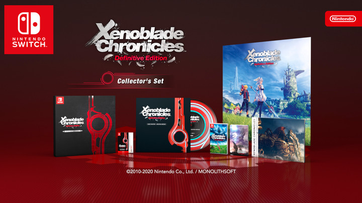 Xenoblade Chronicles Definitive Edition Arrives On 5/29 - Switch!