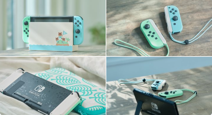 Custom Animal-Crossing Nintendo Switch Available March 20, 2020 for $299.99