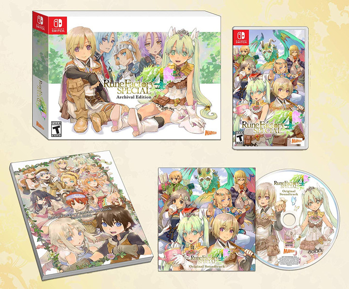 "Rune Factory 4 ""Archival Edition"" Nintendo Switch Pre-Order!"