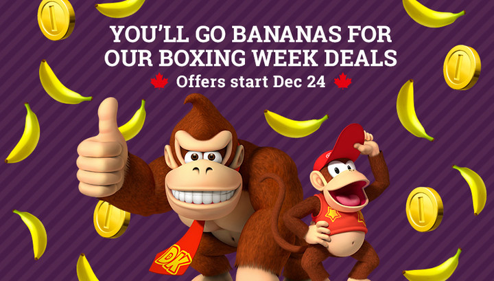 Check out all of the Nintendo of Canada offers for the holiday season!