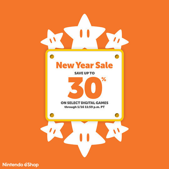 """Save Up To 30% On Select Digital Titles """"New Year Sale"""""""