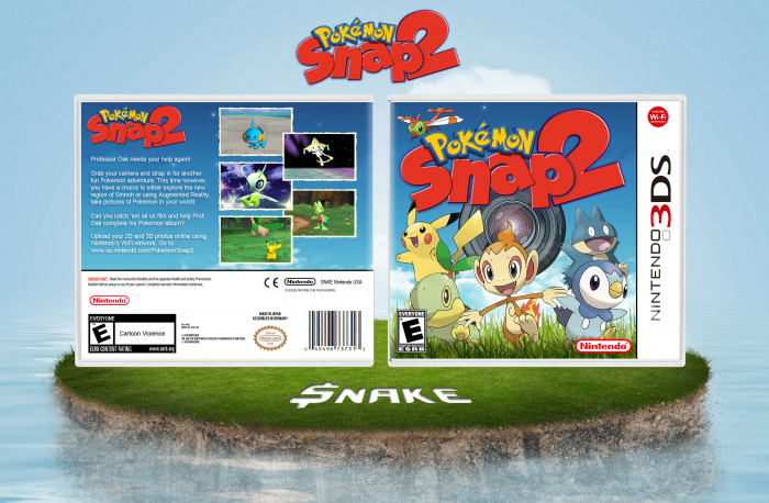Pokemon Snap 2 for 3DS?