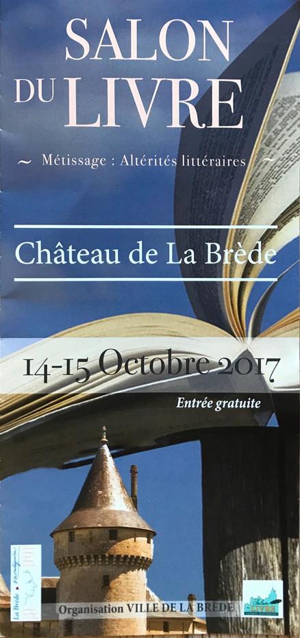 Exposition au salon du livre de La Brède