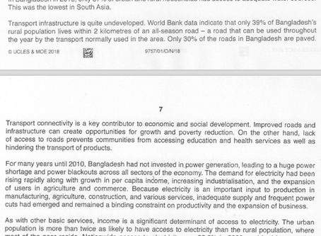 2018 GCE A Level Economics (9757) Macro Answers: Supply-Side Policies to Achieve Inclusive Growth