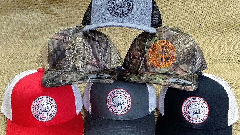 Custom Cotton Snap-Back Trucker Hat