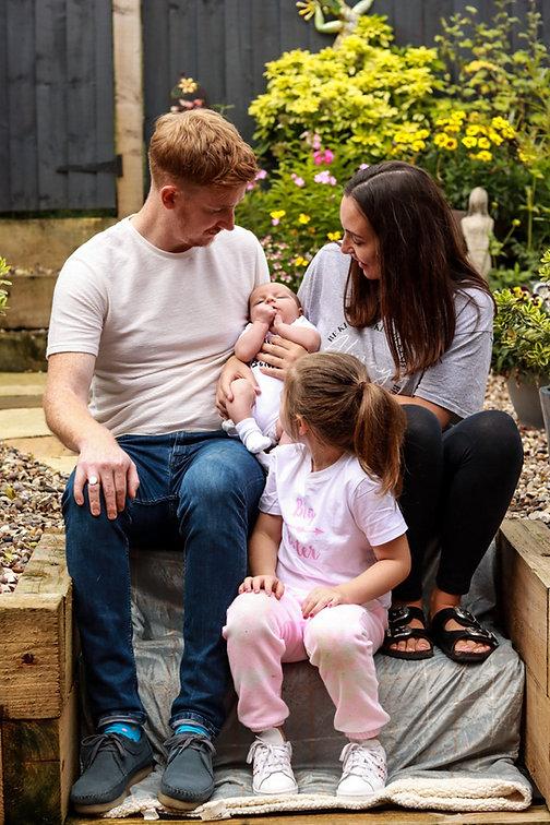 Family portraits, family photos