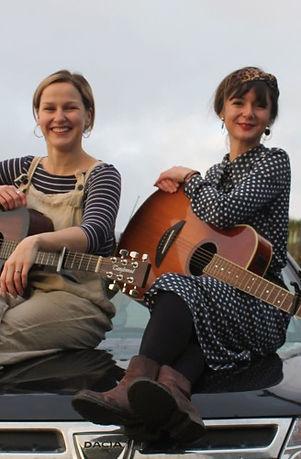 """Cornish folk duet """"Teylu"""""""
