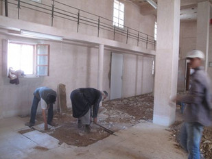 Library renovation update - May 2014
