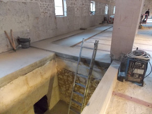 Library renovation update - October 2014