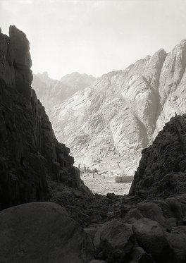 'Sinai. Panoramic view.' greeting card (pack of 5)