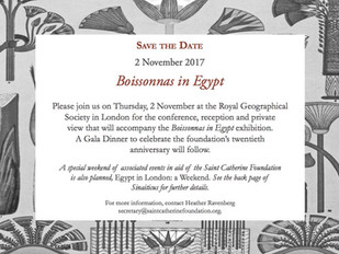 Save the Date: 'Boissonnas in Egypt'