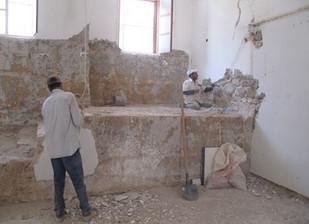 Library renovation update - June 2014