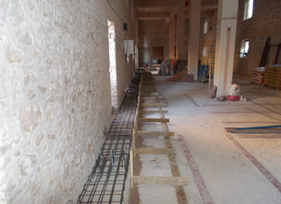Library renovation update - September 2014