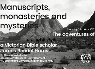 "Event announcement: ""Manuscripts, monasteries and mysteries"""