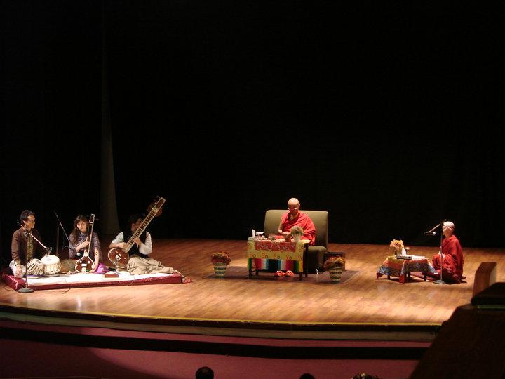 Con Mingyur Rinpoche, Puebla