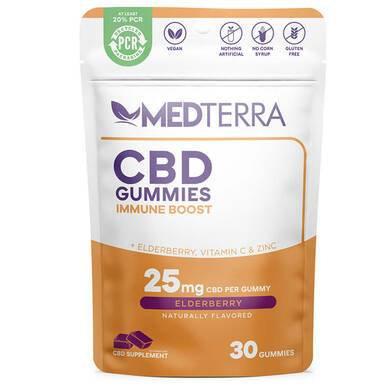 Immune Boost Elderberry Gummies - 25mg
