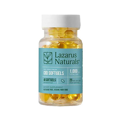 Full Spectrum Liquid Softgels - 25mg