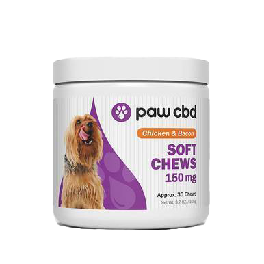 Chicken & Bacon Canine Soft Chews - 150mg-600mg