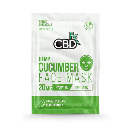 Face Mask Cucumber - 20mg