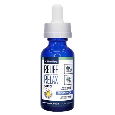 Broad Spectrum Relief &Relax - 500mg-2500mg
