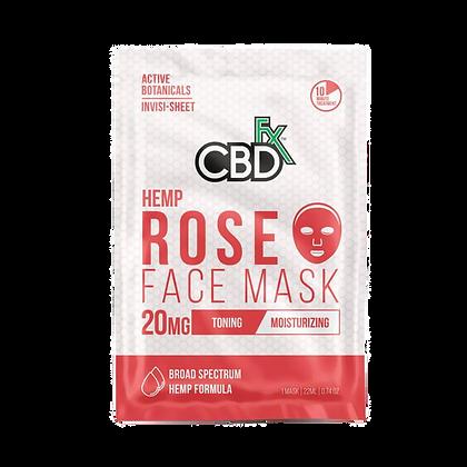 Face Mask Rose - 20mg