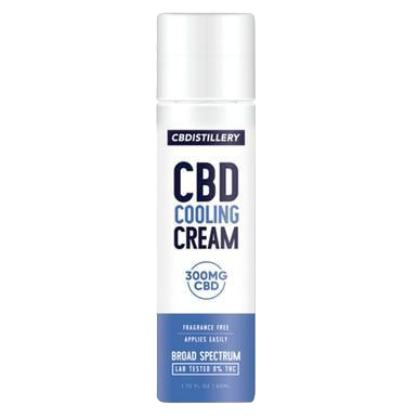 Broad Spectrum Cooling Cream - 300mg