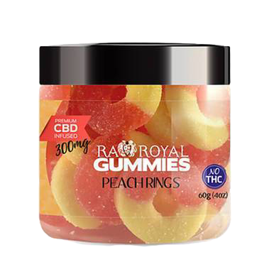 Peach Ring Gummies - 300mg-1200mg