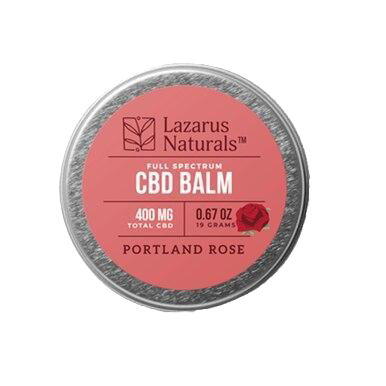 Portland Rose Full Spectrum Balm - 300mg-1200mg
