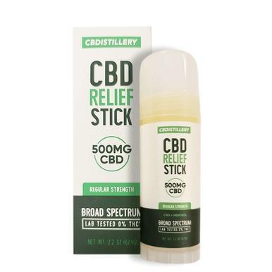 Broad Spectrum Relief Stick - 500mg