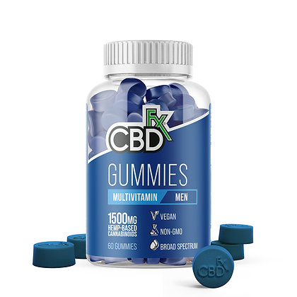 Mens Multivitamin Gummies - 25mg