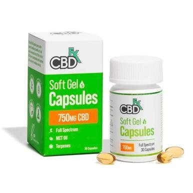 Softgel Capsules - 750mg