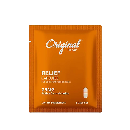 Relief 2 Pack - 25mg