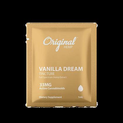 Vanilla Dream Single packed - 33mg