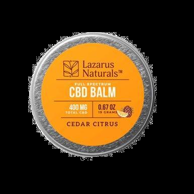 Cedar Citrus Full Spectrum Balm - 300mg-1200mg