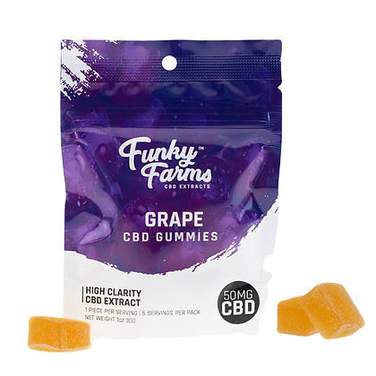 Grape Gummies- 50mg