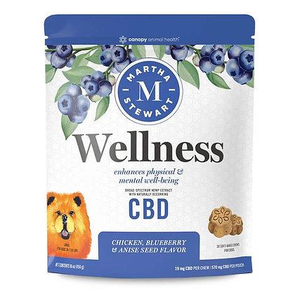 Soft-Baked Wellness Dog Chews - 7mg-19mg