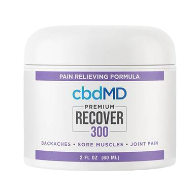 Recover Inflammation Cream - 300mg-1500mg