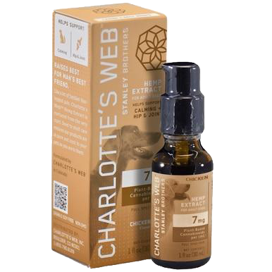 Pet Full Spectrum Calming Drops - 7mg/1mL