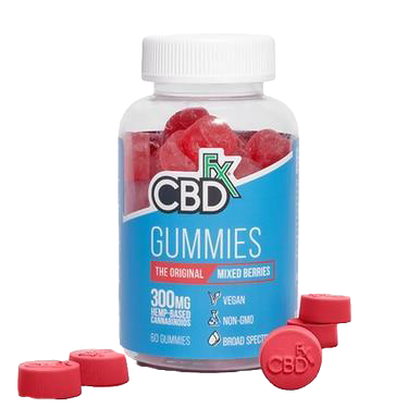 Broad Spectrum Gummies Mixed Berry - 5mg