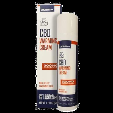 Broad Spectrum Warming Cream - 300mg