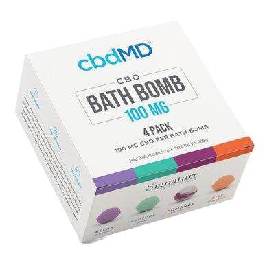 Bath Bombs 4 Pack - 100mg