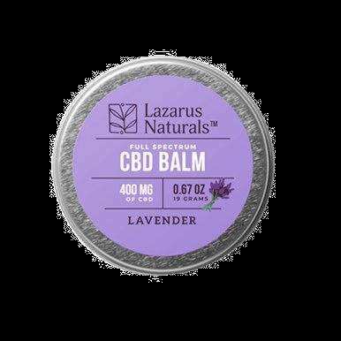 Lavender Full Spectrum Balm - 300mg-1200mg