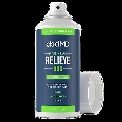 RELIEVE Lidocaine Spray - 500mg-3000mg