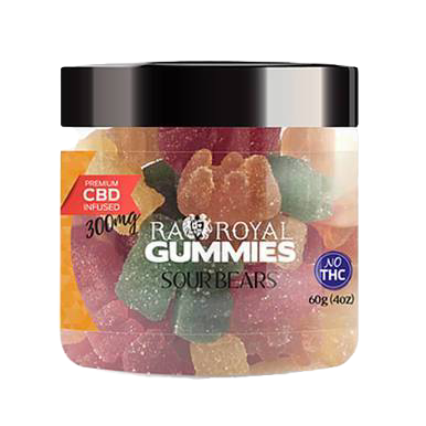 Sour Bears Gummies - 300mg-1200mg