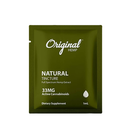 Natural Single packed - 33mg
